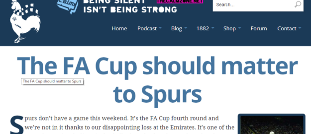 Spurs FA Cup article