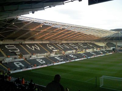 Spurs visit to Swansea