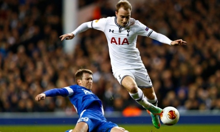 Eriksen against Dnipro