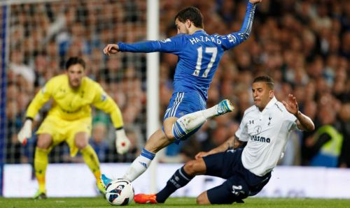 Hazard for Chelsea against Spurs