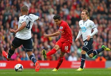 Coutinho scores against Tottenham