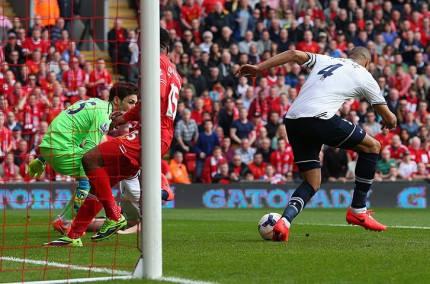Liverpool Spurs Own Goal