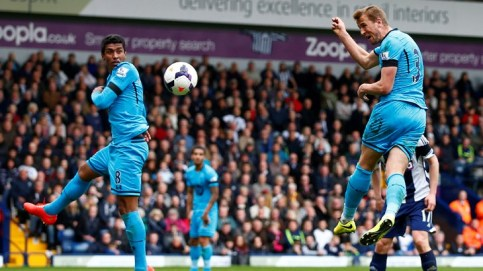 Kane Scores for Spurs against West Brom