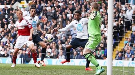 Paulinho scores against Fulham