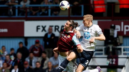 West Ham Spurs - Carroll Dawson