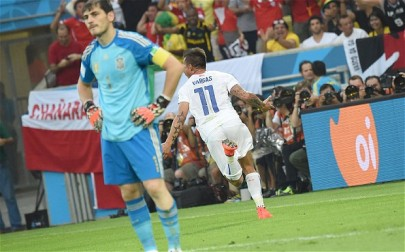 Casillas looks dejected