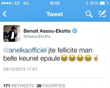 Assou-Ekotto Tweet 2