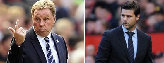 Spurs QPR - Pochettino Redknapp