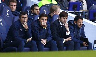 Pochettino watches Spurs Stoke