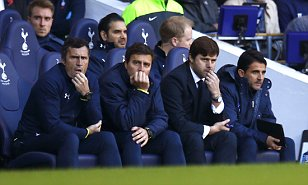 Pochettino watches Spurs Stoke
