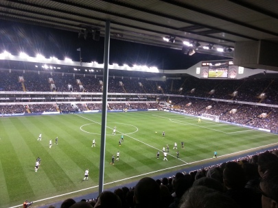 White Hart Lane Spurs Everton