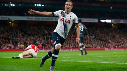 Kane Scores Against Arsenal